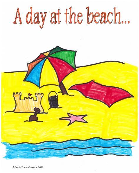 Beach Theme Day